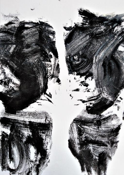 Body stamp- back of legs - Edyta Michalec