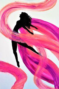 Shade of dance between colors .