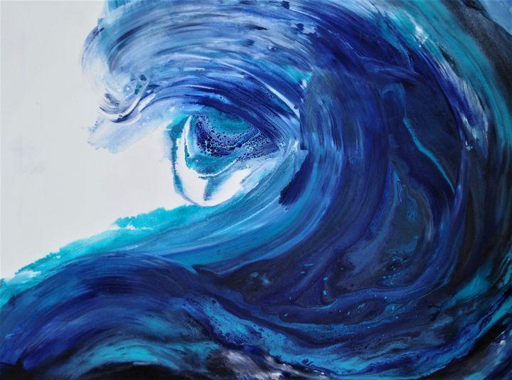 Dolphin waves - Edyta Michalec