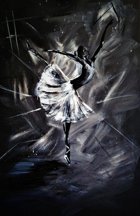 Dance through dust - Edyta Michalec