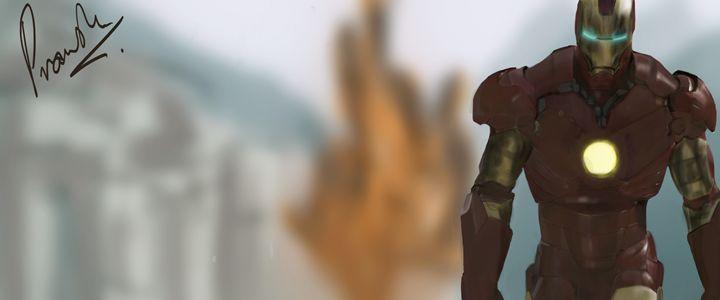 Iron Man Painting - Digital ART