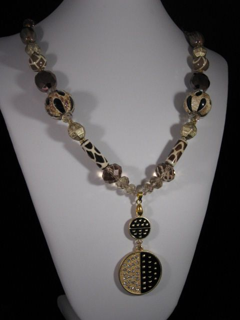Golden Safari Necklace - Handmade Elegance and More by Derick