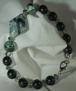 Dark Swirls Bracelet