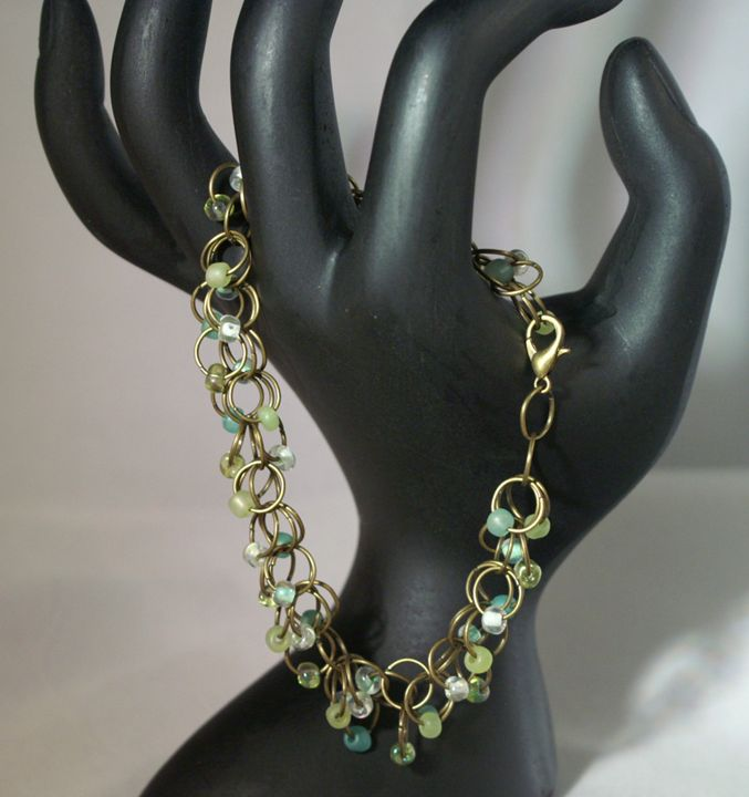 Jump Ring Bracelet - Handmade Elegance and More by Derick