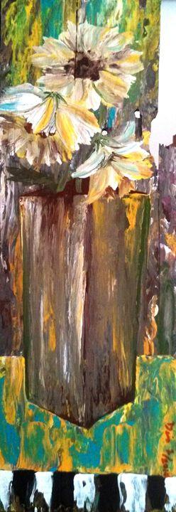 """flower vase 6""""x16"""" - dianestudio"""