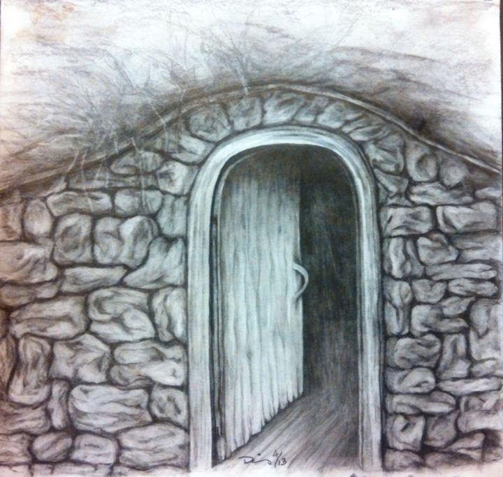 old wood door - dianestudio