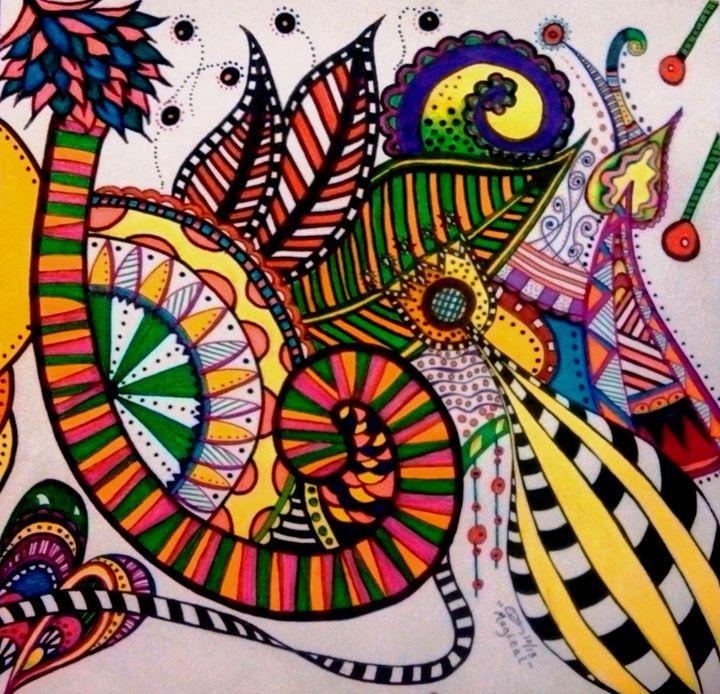 Abstract #5 - dianestudio