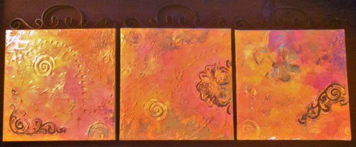 abstract triptych - dianestudio