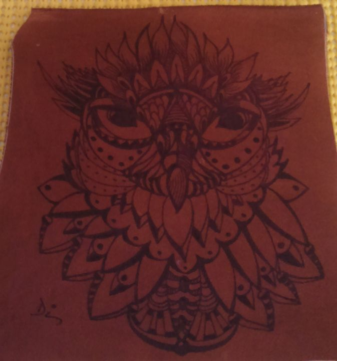 owl in the abstract - dianestudio