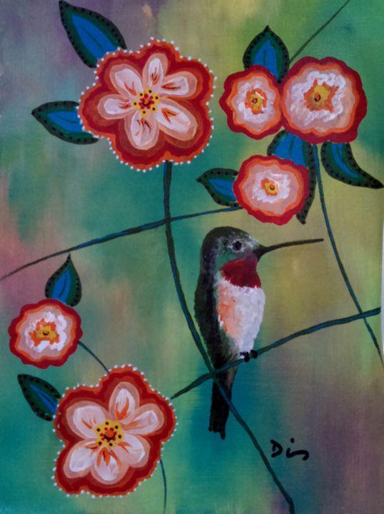 hummingbird - dianestudio