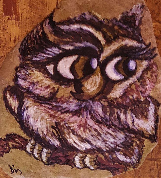 cutesy owl - dianestudio