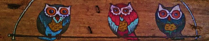 3 swinging owls - dianestudio