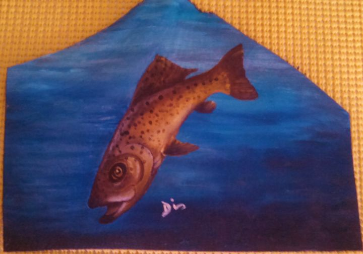 brown trout - dianestudio