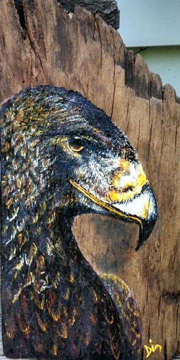acrylic on wood - dianestudio