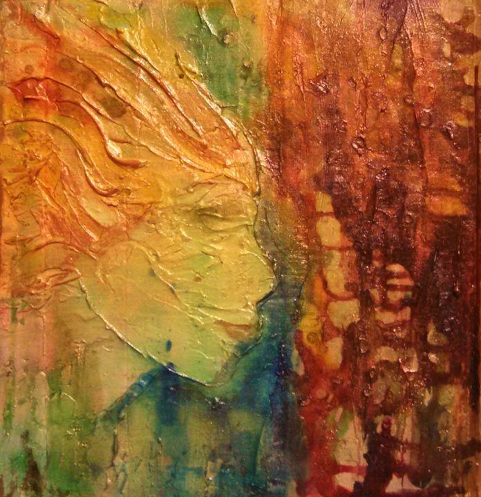 woman face abstract - dianestudio