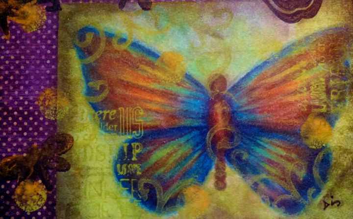 butterfly abstract detail - dianestudio