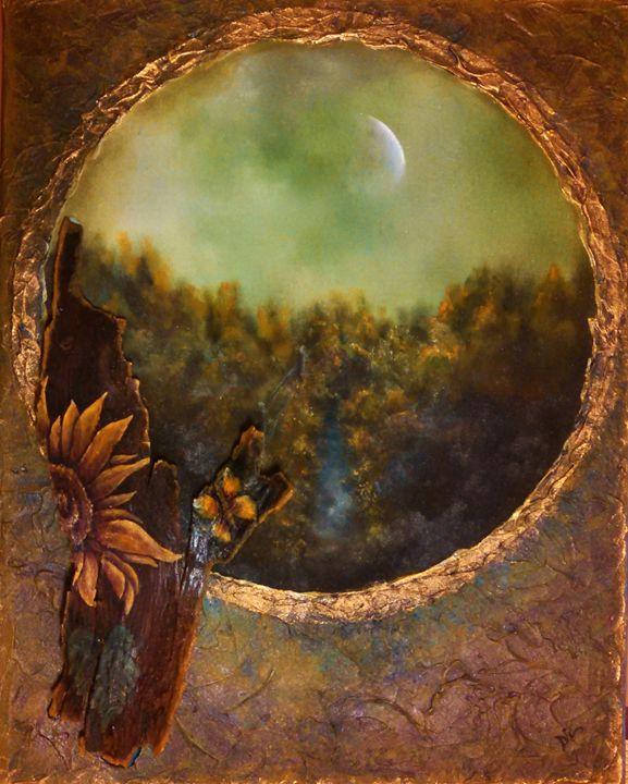 sunflower collage - dianestudio