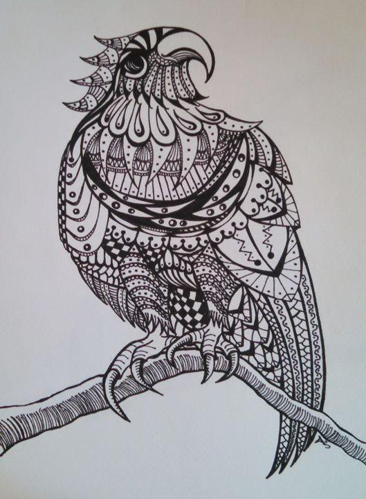 bird abstract - dianestudio