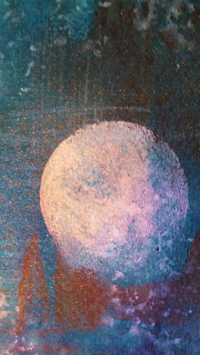 abstract moon - dianestudio