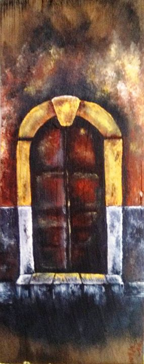 "door 1 7""x16"" - dianestudio"