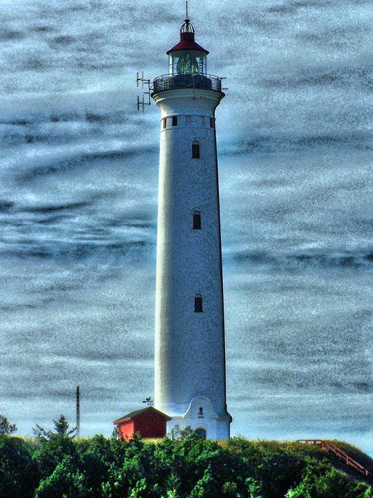 Nörre Lyngvig lighthouse - Titas Thingses