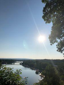 Summer glow Mohawk river
