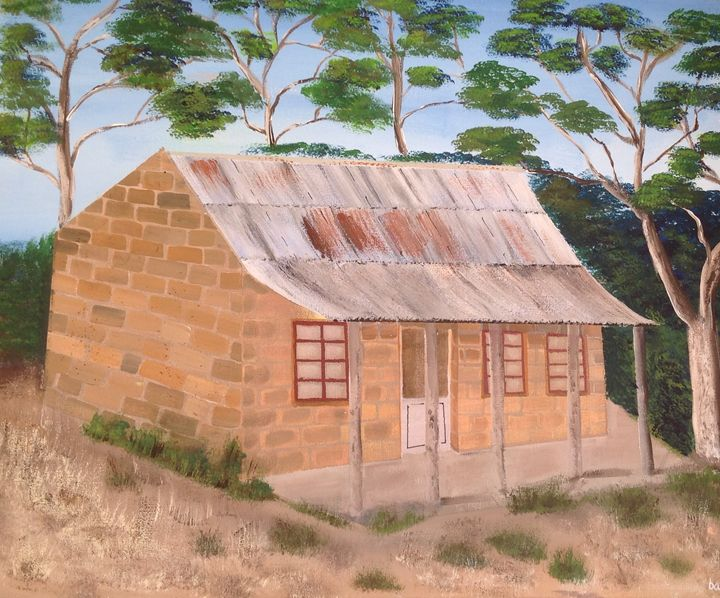 Little house somewhere in South Aust - puhwissel art