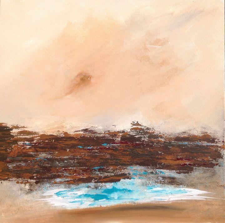 Bulli beach and the escarpment. - puhwissel art