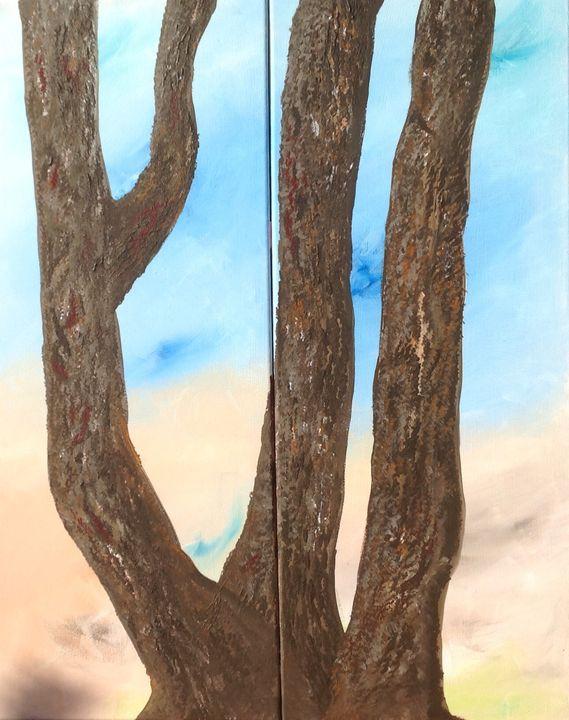 """My backyard"" - puhwissel art"