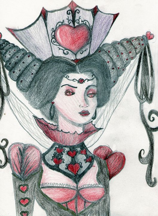 Queen of Hearts - From Mind To Paper
