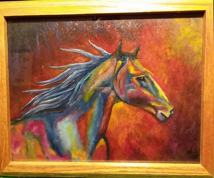 A horse of a different color - The art of the Chip