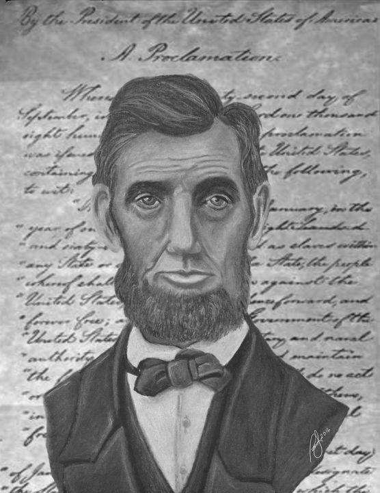 Honest Abe - Paul's Art