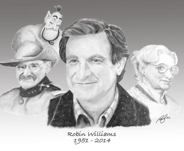 Robin Williams Tribute - Paul's Art