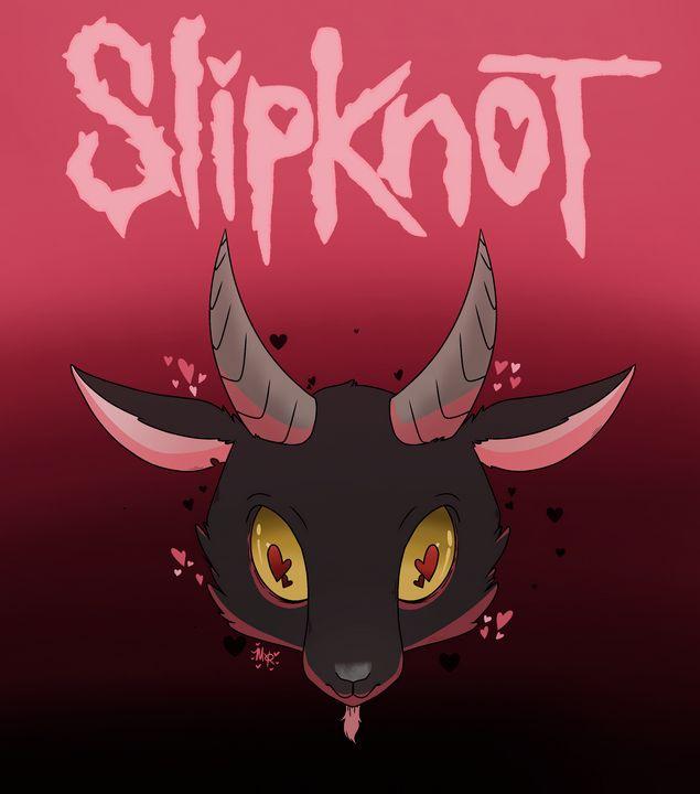 Slipknot in pink - Unik