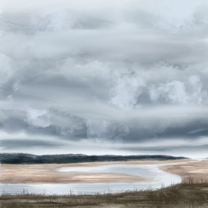 Budle Bay - Catherine Dunn Art