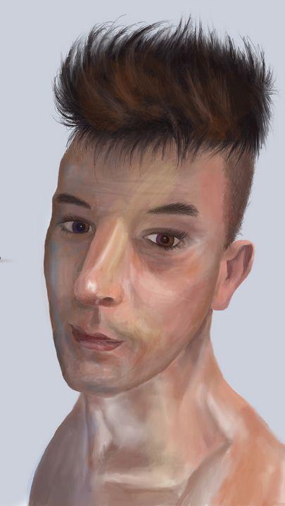 Portrait (Vinnie) - Catherine Dunn Art