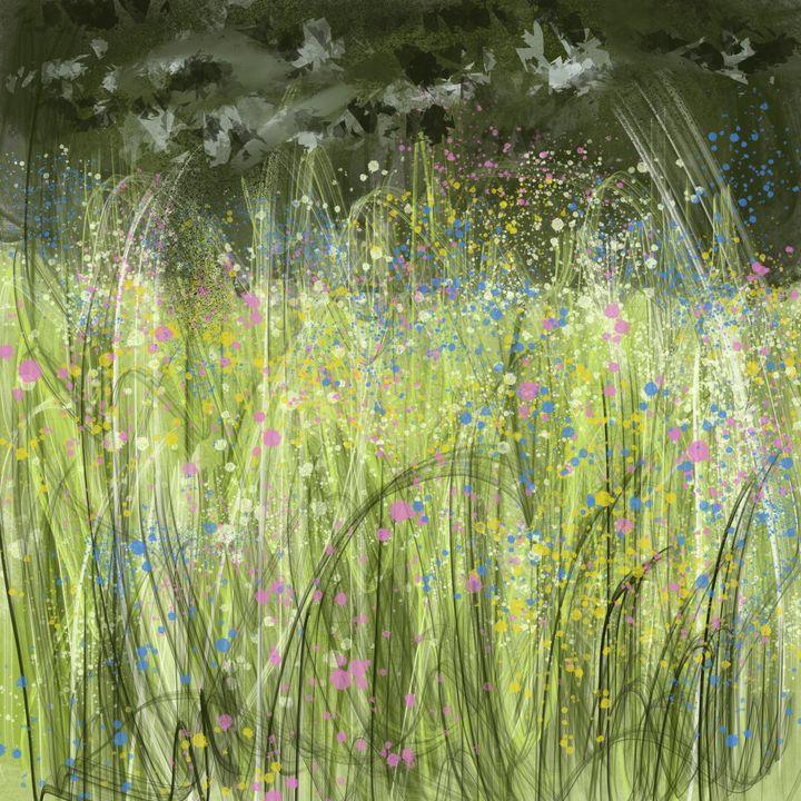 Wildflower Meadow - Catherine Dunn Art