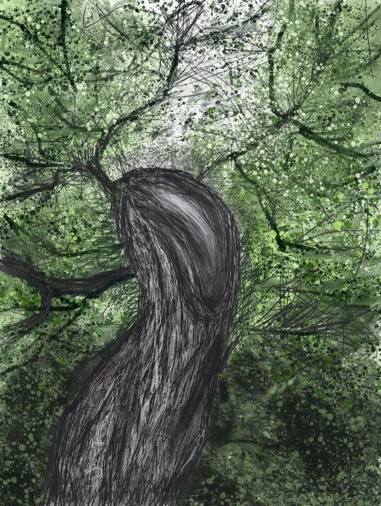 Tree at Roughtinglinn - Catherine Dunn Art