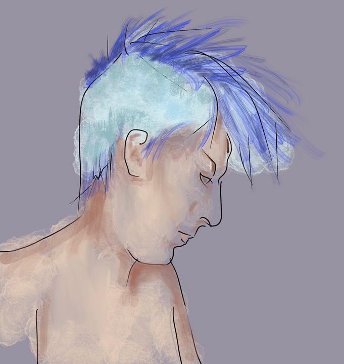 Portrait sketch - Catherine Dunn Art