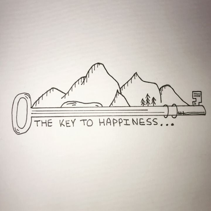 The Key to Happiness - Road Trippin Artist