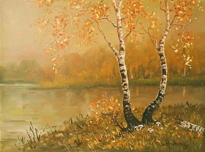 Golden autumn - my paintings