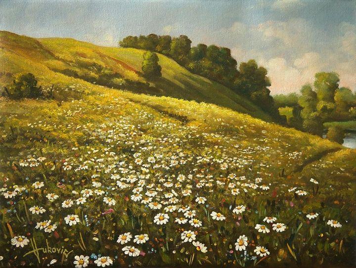 Daisies - my paintings