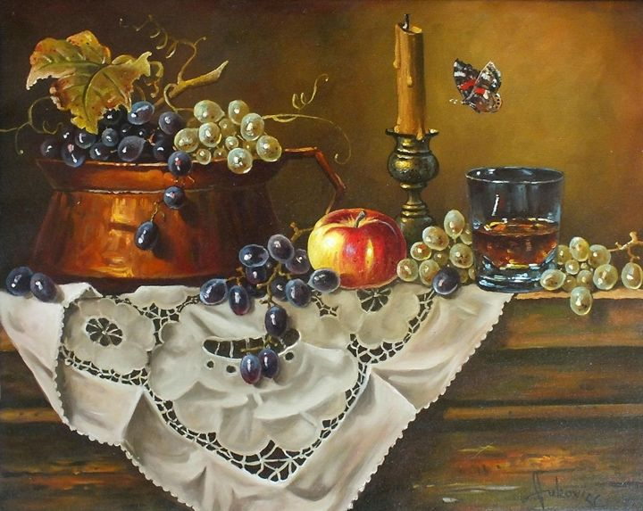 Small candlestick - my paintings