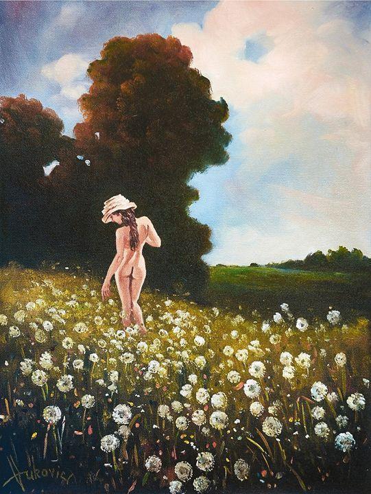 It's time dandelions - my paintings