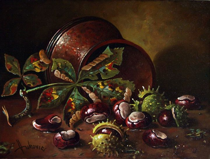 Chestnuts - my paintings