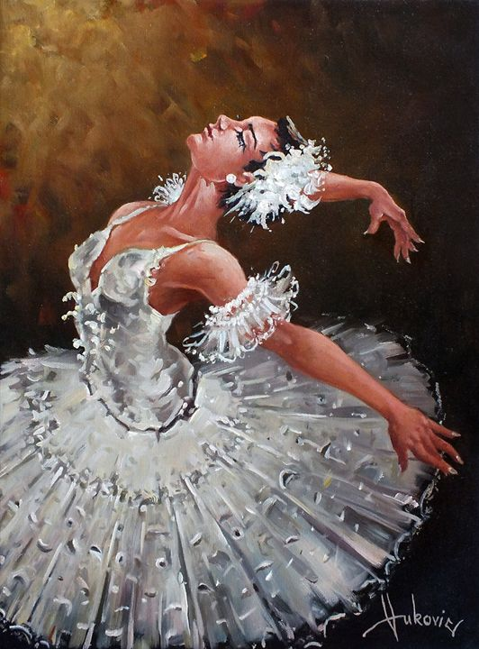 ballerina - my paintings