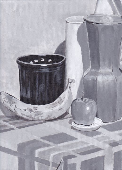 Black and White Still Life - Julie Clarke