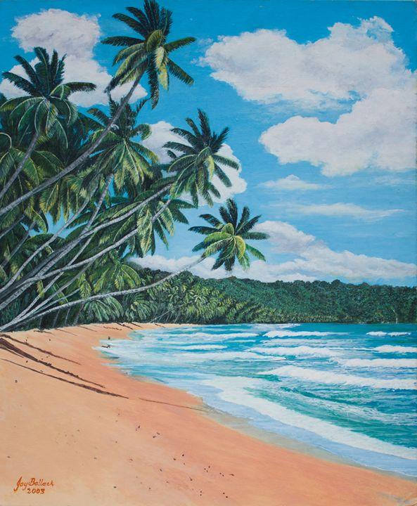 Caribbean Jewel - JoyBallackFineArt