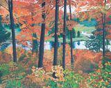 Original, autumn river scene.
