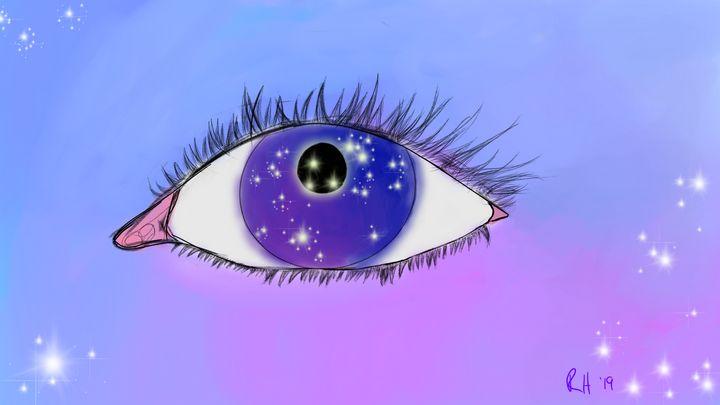 Galaxy Eyes - Luna Segreta
